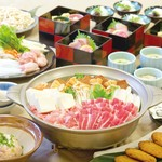相撲茶屋 ちゃんこ 江戸沢 - 料理写真:大関コース