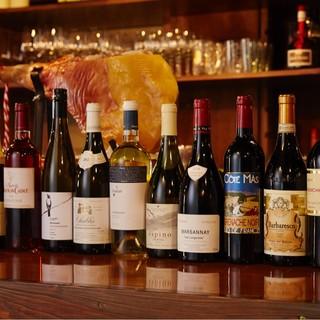 豊富&リーズナブル!全40種の豊富なワインを飲み尽くそう★