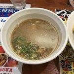 つけ麺 津気屋 - 煮干しつけ麺   つけスープ