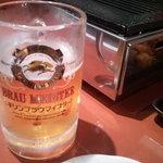 あかやしろ榮 - やっぱりビール