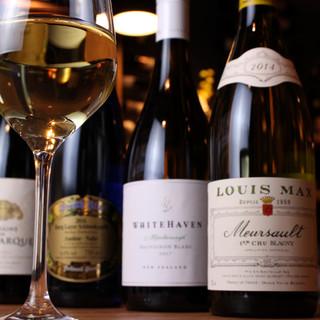 名門シャンパーニュを贅沢にグラスで*厳選ワインの数々をお届け