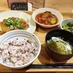 丸の内タニタ食堂 - 2018年6月某日の日替わり定食