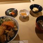 88368540 - 天丼セット ¥2,700