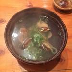 防波亭 - アサリ酒蒸し 380円