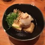 防波亭 - 揚げ出し豆腐 380円