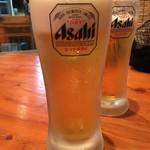 防波亭 - アサヒスーパードライ(生中) 450円