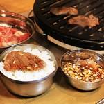 立ち焼き本舗 タレ亭 - タレ亭和牛焼肉セット