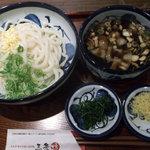 8837761 - ヤマトポークの香りつけ麺 680円+大盛り100円