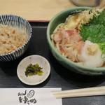 うどん ゆきの - 料理写真:天おろし定食