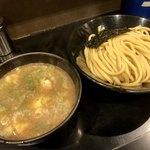 つけ麺無心 - Wスープつけ麺(半熟味玉入)(並)麺300g