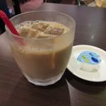すなば珈琲 - アイスカフェオレ