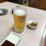 十々亭 - 生ビール