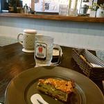 蕎麦cafeダイニング イベリスside - 蕎麦粉キッシュ