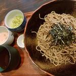 蕎麦cafeダイニング イベリスside - タピオカ粉他使った自家製蕎麦