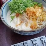 四代目横井製麺所 - とろろぶっかけうどん大盛冷たいやつ
