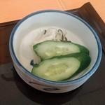 赤坂 ふきぬき - [料理] お新香 アップ♪w