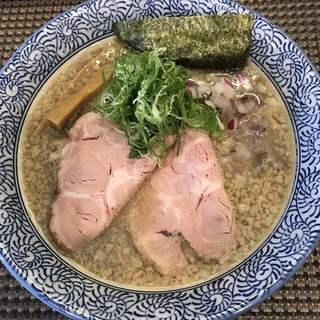セアブラノ神 伏見剛力 - 料理写真:背脂煮干しそば750円