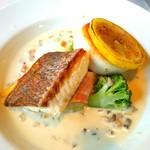 吉庭 - 吉彩コースの魚料理