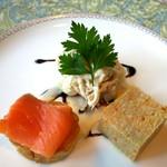 吉庭 - 吉彩コースの前菜