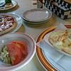 ドライブイン イッシン - 料理写真:エビグラタン、ミックスピザ