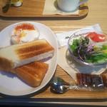 モスカフェ - 朝のバランスプレート