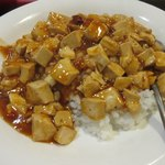 中華料理 回味 - 麻婆飯接写