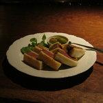 Bar Palme dor - 「国産和牛のビーフカツサンド」です。
