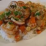 洋食 松キッチン - 洋風海鮮丼