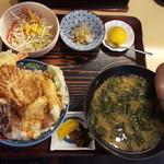 漁師料理 みき - 料理写真:天丼定食