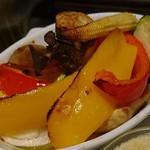 88381006 - グリル野菜のバーニャカウダー