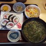 漁師料理 みき - 太巻ハーフ定食