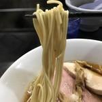 麺処 晴 - 【2018.6.24】村上朝日製麺の低加水パッツン細麺❗️