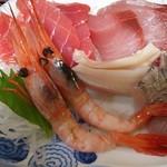 瑠玖&魚平 - お刺身定食