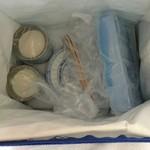中国精進料理 凛林 - 杏仁豆腐は冷えた器、鮑の壺蒸しスープは刻み食仕様に