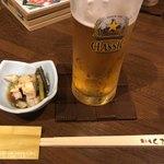 居酒屋 くさち - お通し/蛸と山菜の煮物