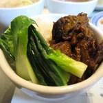 三茶酒家 香港バル213 - ミニ牛バラ煮込み飯