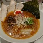 北新地 海老拉麺 キョウハ・エビ - 醤油エビラーメン