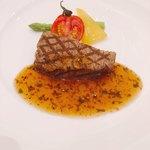 ハイアットリージェンシー東京 - 牛フィレ肉のグリル エシャロットと黒胡椒の和風ソース