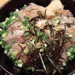 ボガマリ 渋二 - カンパチ丼 炙りみたいな?