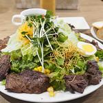 Brasserie MORI - ハラミステーキ&サラダ(M)