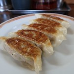 亀戸餃子 - 餃子1皿5個入り250円