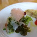 アマルフィイ ホワイトガーデン - 真鯛のカルパッチョ