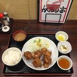 まちのごはんや がっつり亭 - からあげ定食 小  ¥790