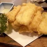 百々屋 - 子持ち昆布の天ぷら