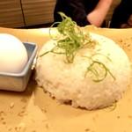 百々屋 - 雑炊用のご飯