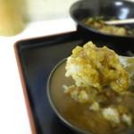 新月 - ミニカレー丼