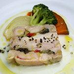 イタリア食堂 MARIA - 鳥もも肉と夏野菜のテリンナ