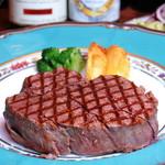 網焼ビフテキ小松屋 - 特選ヒレ肉網焼ビフテキ200g