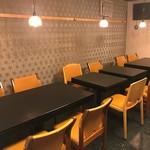 麻布しき - テーブル席 最大12名