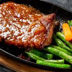きくちゃん食堂 - 料理写真:鹿肉ステーキ